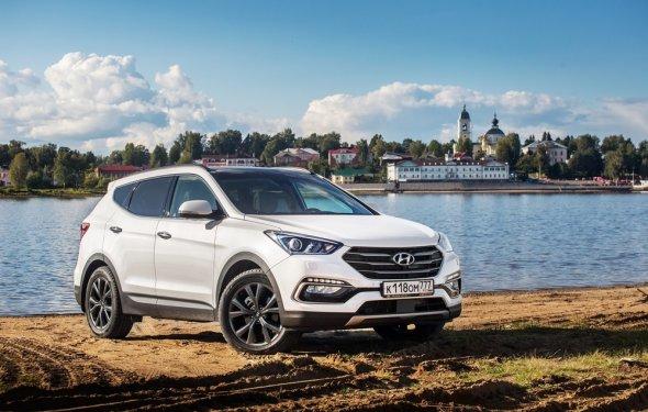 Блиц-тест кроссовера Hyundai Santa Fe Premium. Хороший Санта