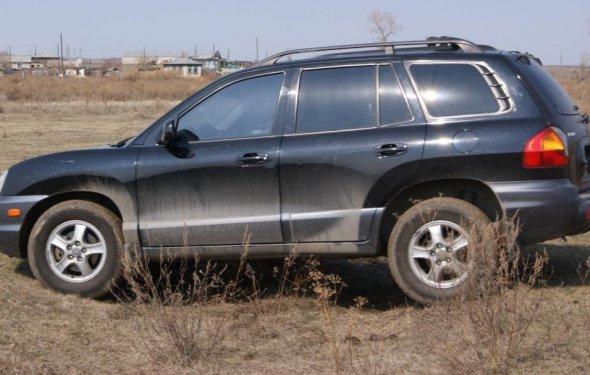 Хендай Санта Фе Классик 2002, 2.7 литра, бензин, расход от11 до 17