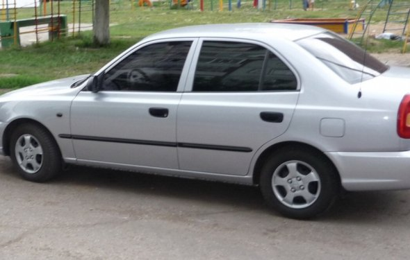 Hyundai Accent МТ 2 | DRIVE2