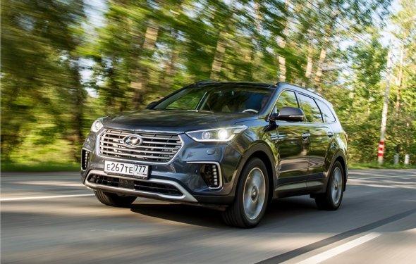 Hyundai Grand Santa Fe - обзор, цены, видео, технические