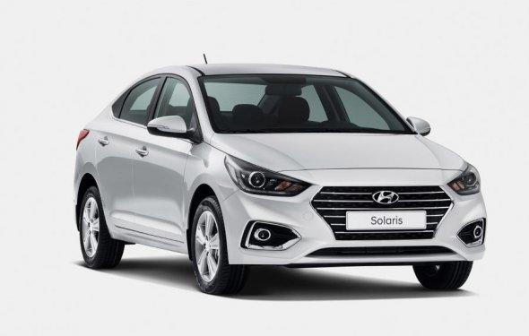 Hyundai Solaris - продажа Хендай Солярис 2017 в Москве, новый