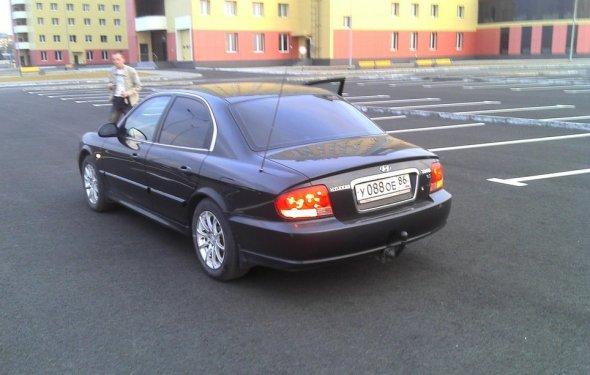 Hyundai Sonata 2005, 2 литра, Итак Getz был продан случайно и
