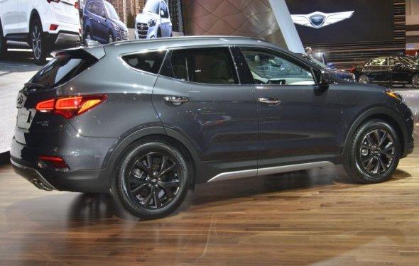 Новый Hyundai Santa Fe 2017 для рынка США |