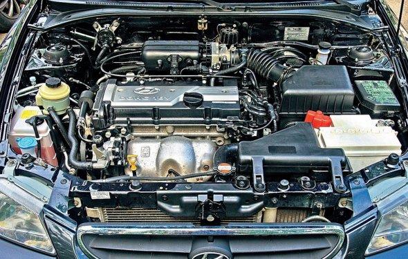 Обслуживание двигателя автомобиля Hyundai Accent! Характеристики