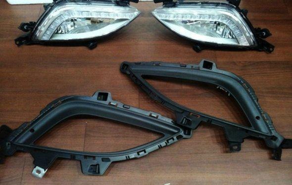 Противотуманки HYUNDAI i30 — заметил РАЗНИЦУ — бортжурнал Hyundai