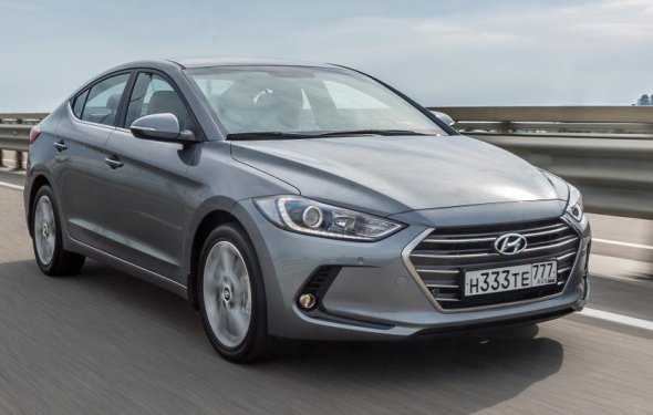Тест-драйв: Hyundai Elantra - Top Gear