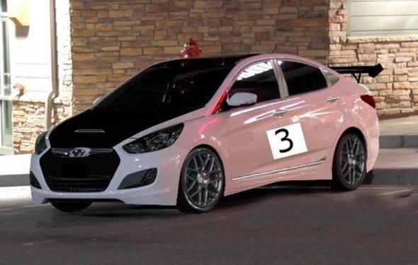 Тюнинг Хендай Солярис (12 фото), tuning Hyundai Solaris, видео