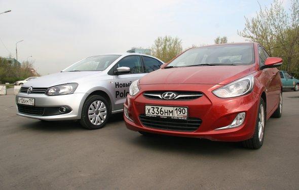 VW Polo Sedan – Hyundai Solaris. Мужчины против женщин :: Autonews
